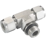 Stainless Compression Fittings T