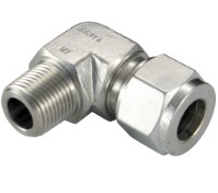 Stainless Compression Fittings MF Elbow