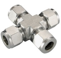 Stainless Compression Fittings Cross